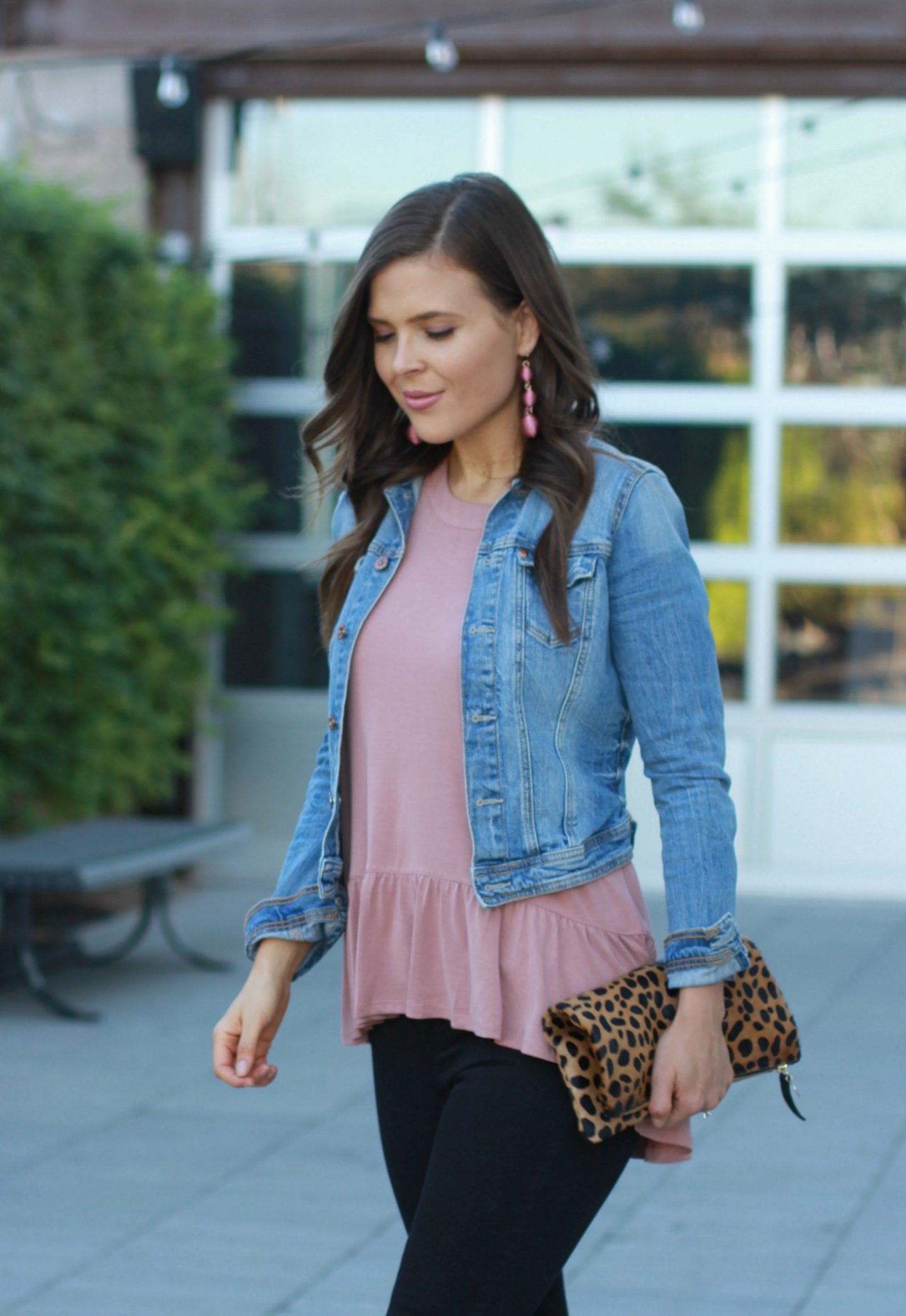 One Ruffle Top Two Ways with Nordstrom