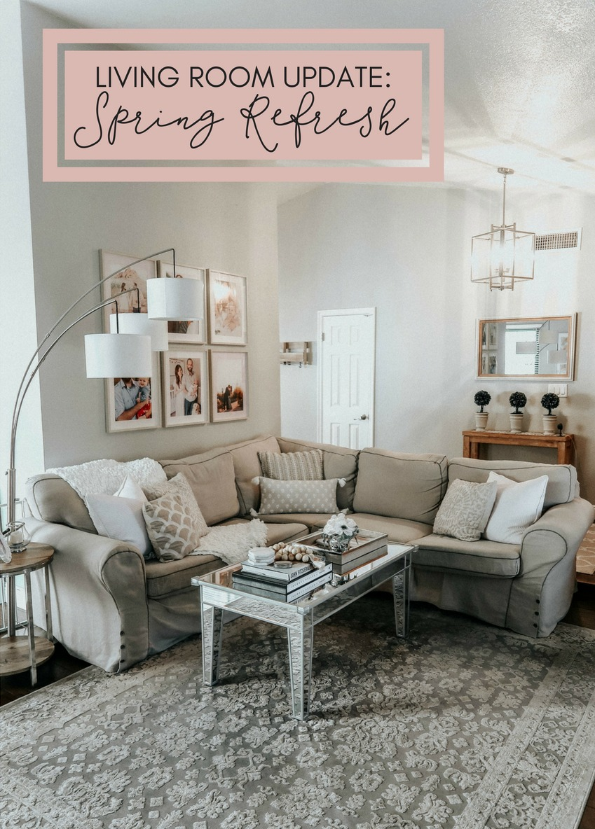 Living Room Update: Spring Refresh