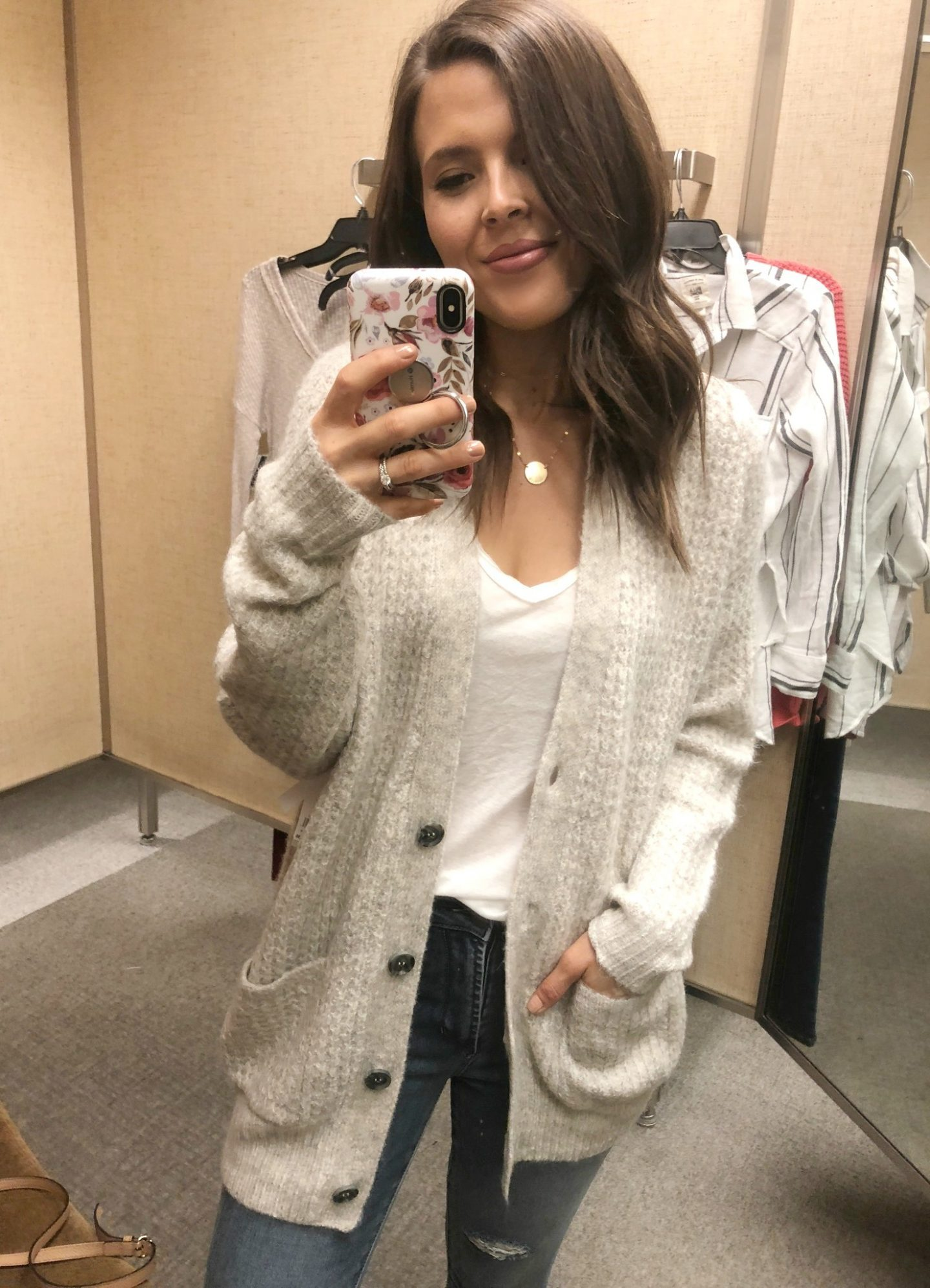 nordstrom anniversary sale bp oversized waffle stitch cardigan