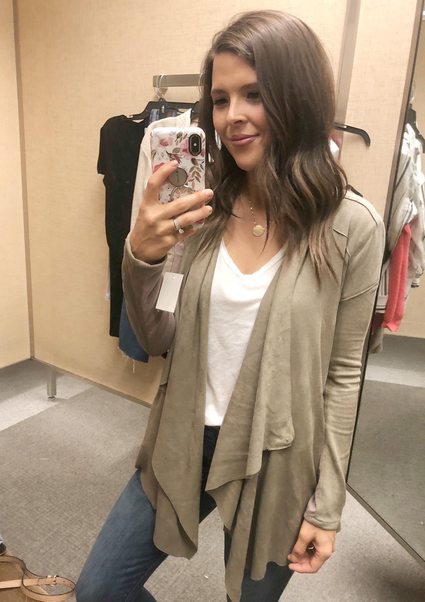nordstrom anniversary sale blanknyc cloud nine drape jacket