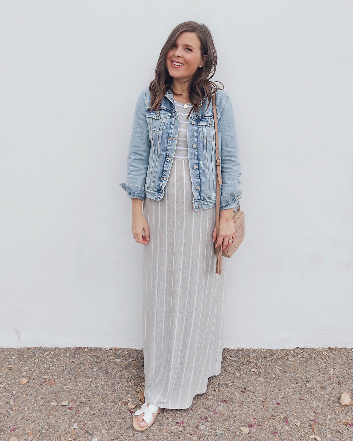 amazon try-on brie_bemis_rearick_amazon_levaca_womens_summer_sleeveless_striped_maxi_dress_2