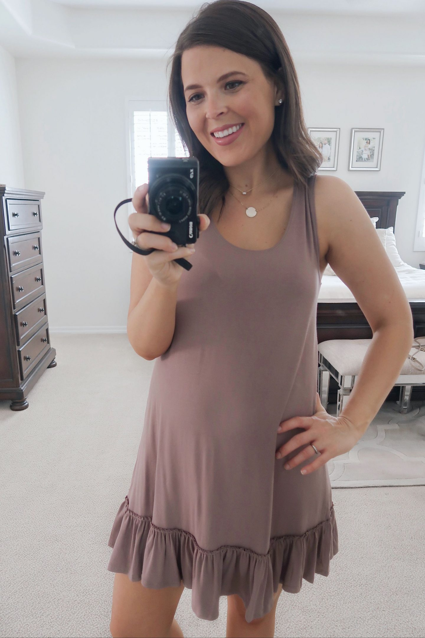 amazon try-on http://briebemisrearick.com/wp-content/uploads/2019/04/brie_bemis_rearick_amazon_tank_dress_with_ruffled_hem_iconic_luxe_2.jpg