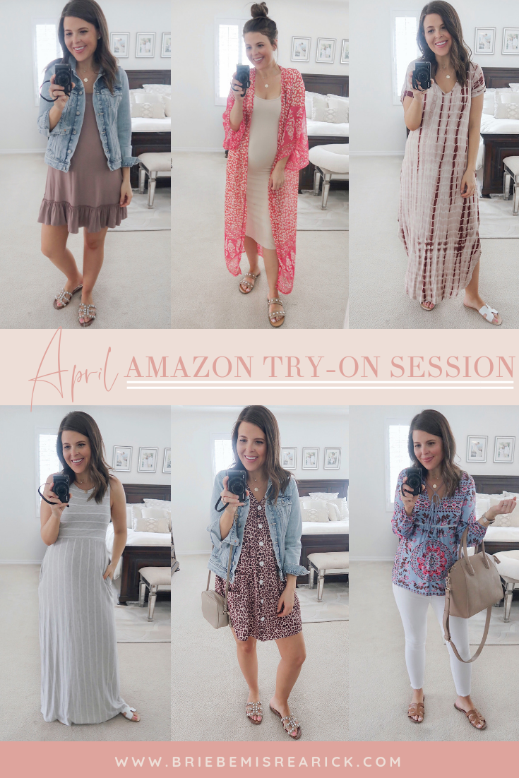 April Amazon Try-On Session