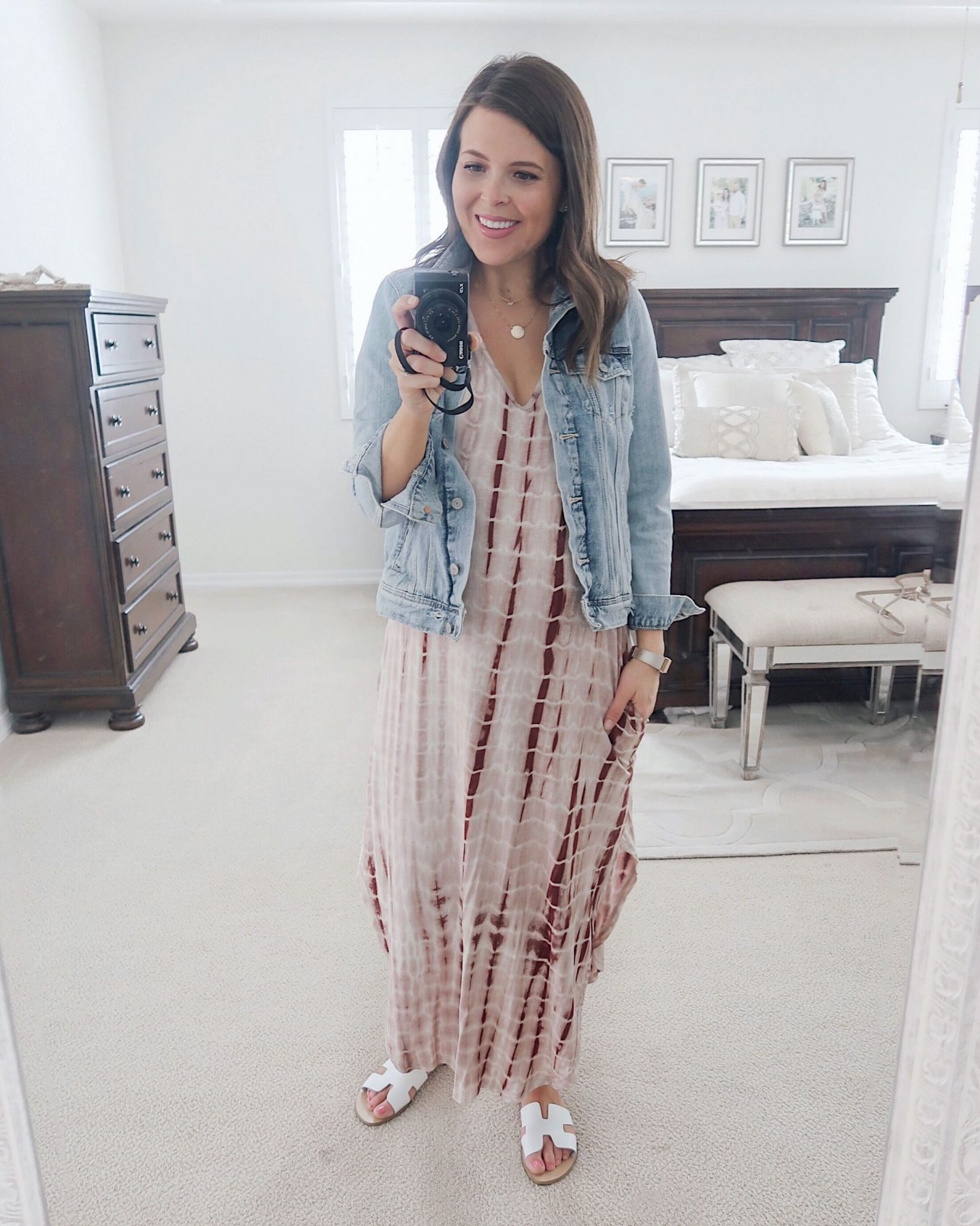 amazon try-on brie_bemis_rearick_makemechic_casual_tie_dye_maxi_dress_3