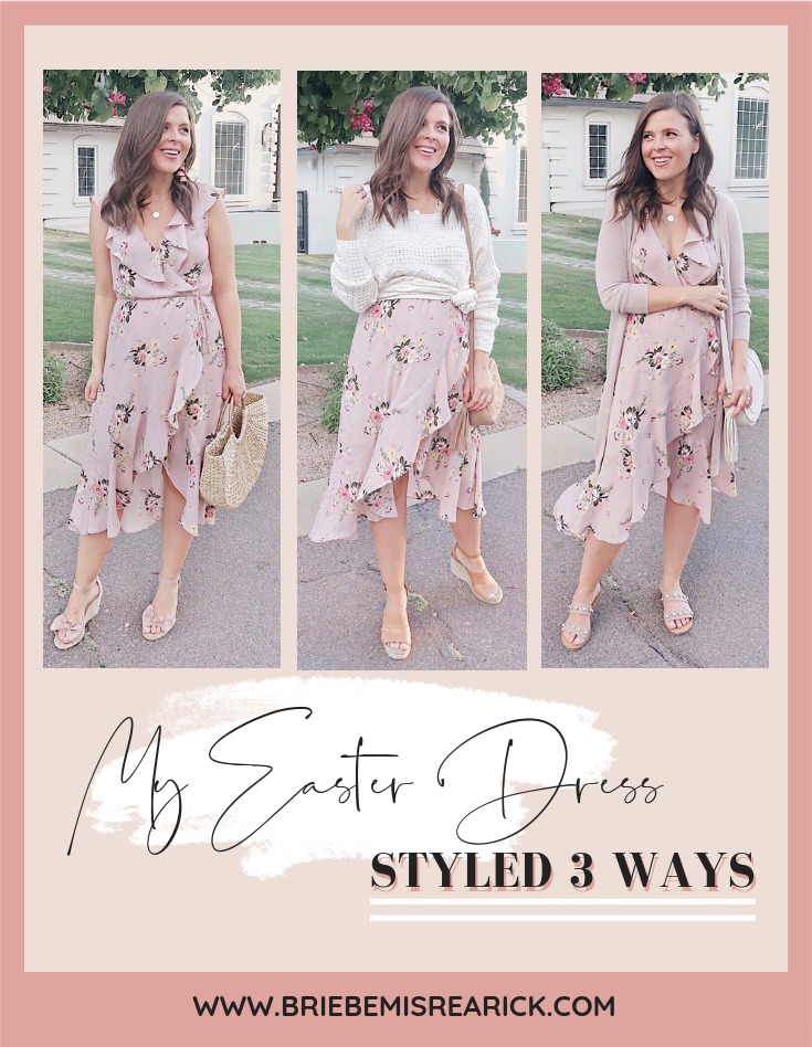 My Easter Dress Styled 3 Ways