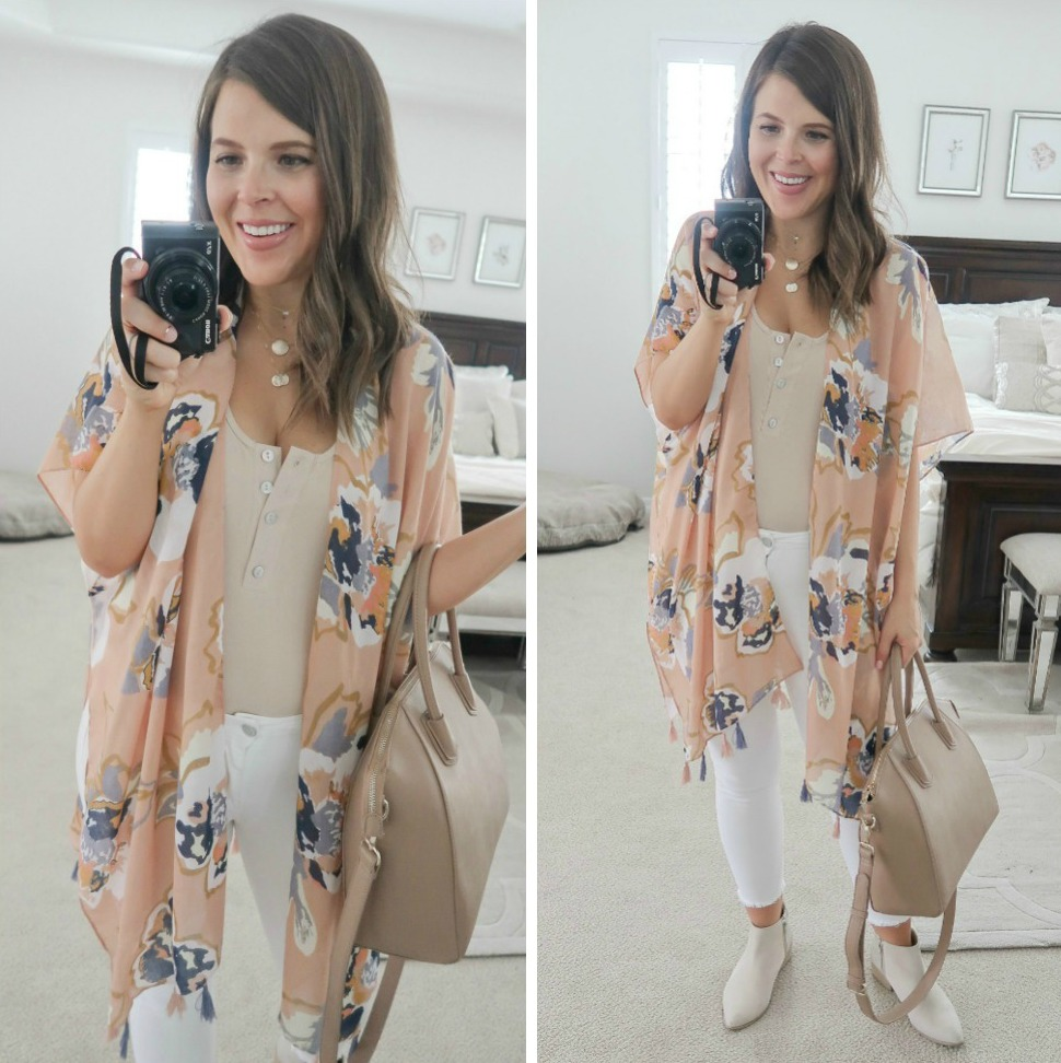 september amazon try-on session tassel kimono