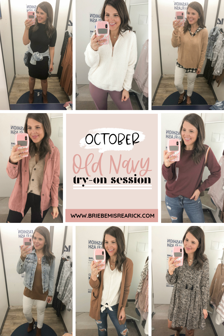 October Old Navy Try-On Session