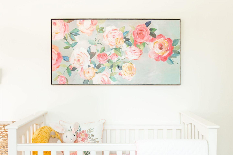 baby girl nursery 2020 florals