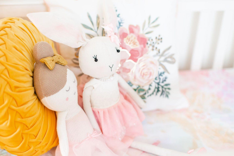 baby girl nursery 2020 watercolor sheets