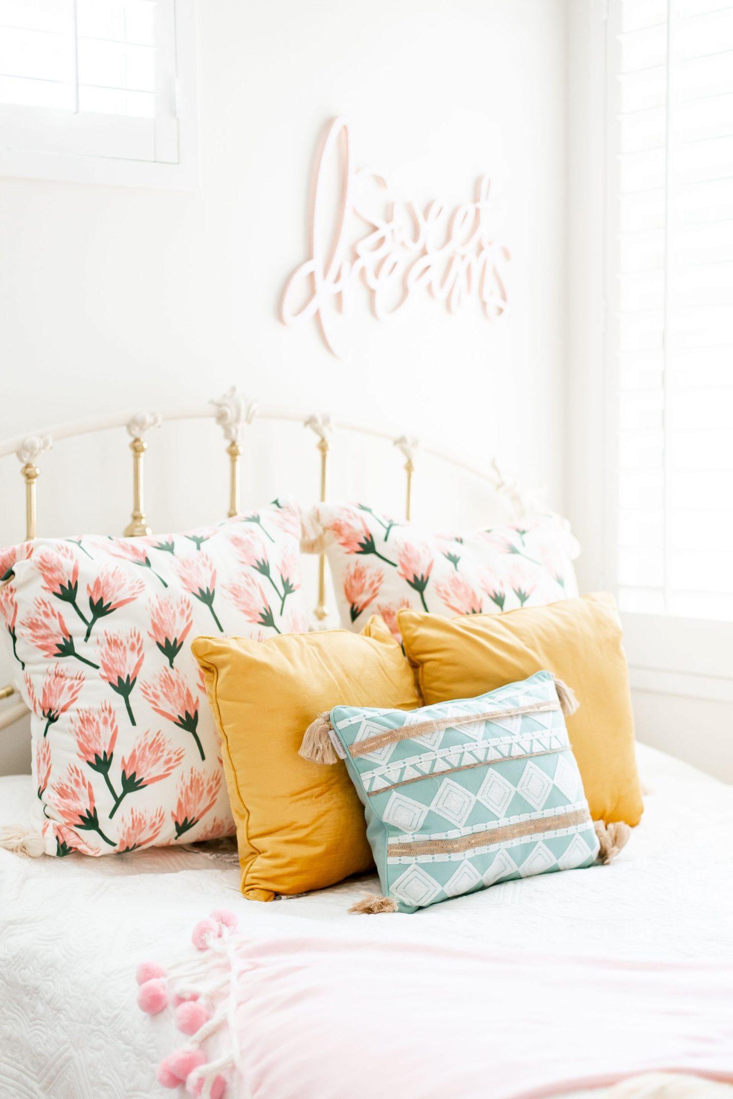 baby girl nursery 2020 florals guest bedroom