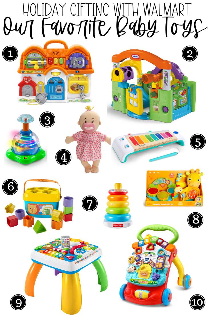 walmart holiday gift guide baby toys