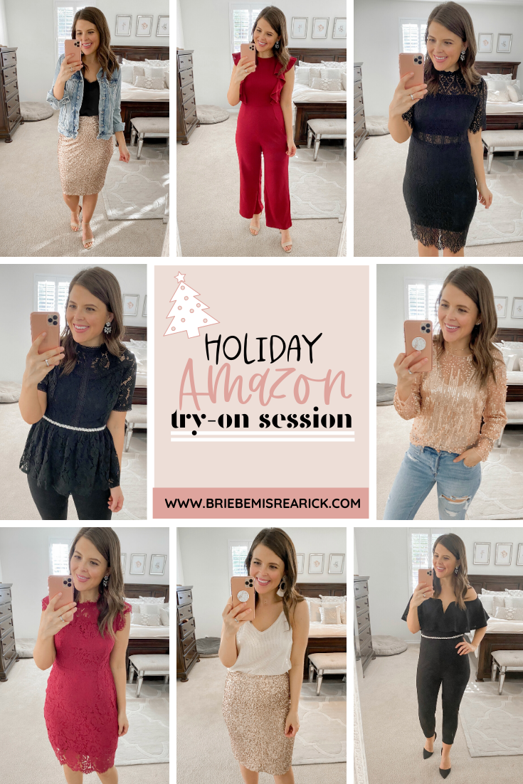 Amazon Holiday Try-On Session