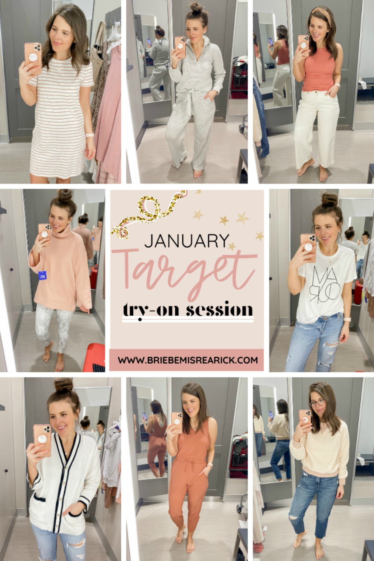 January Target Try-On Session