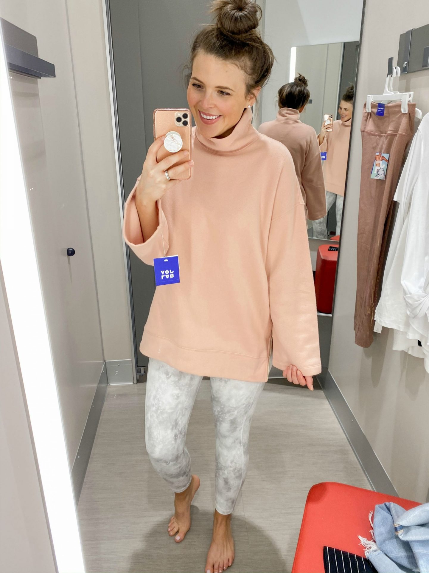 January Target Try On Session Brie Bemis Rearick Athleisure