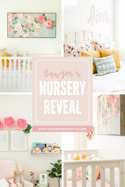 Sawyer's Baby Girl Nursery Reveal