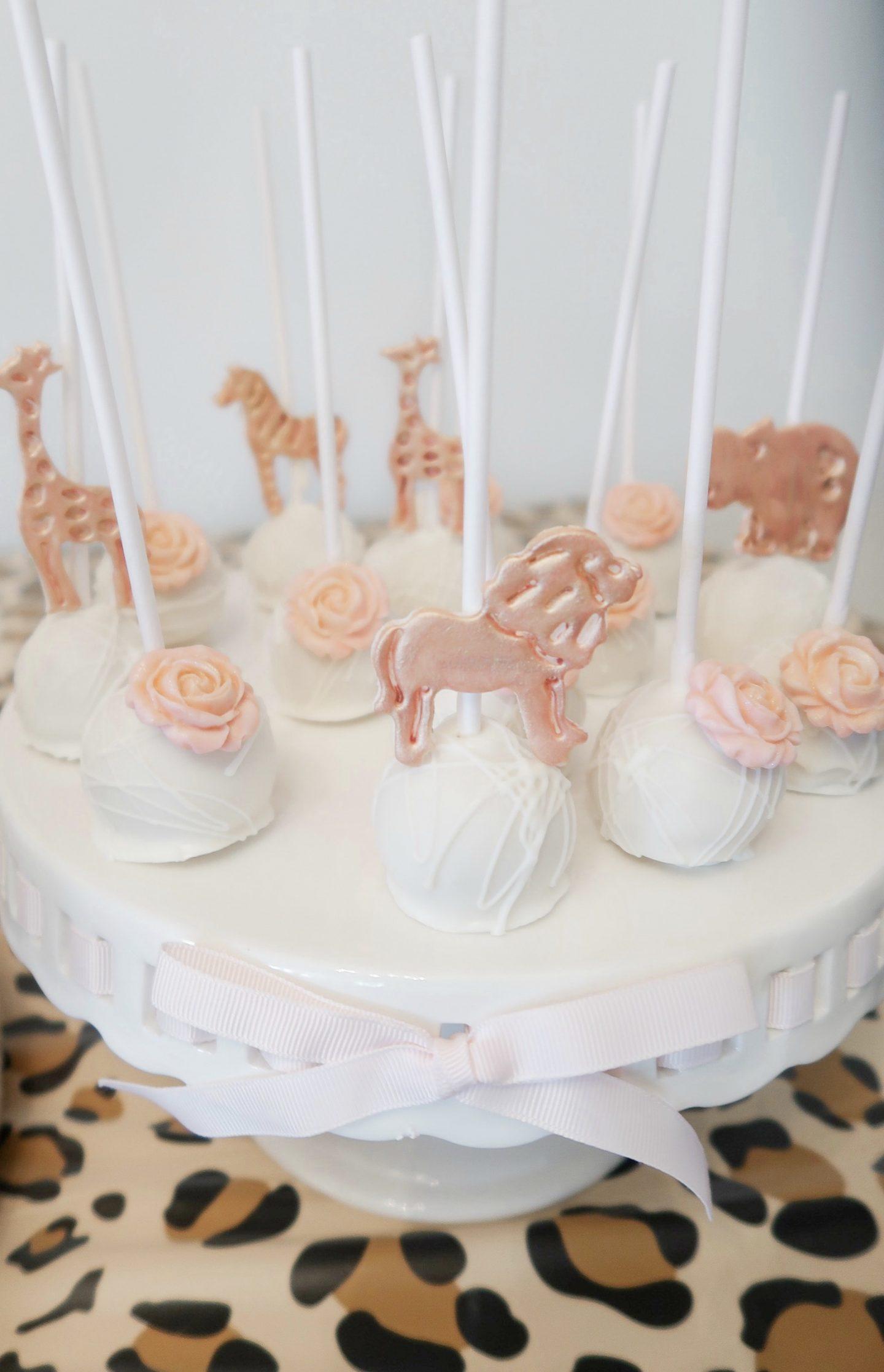 safari cake pops