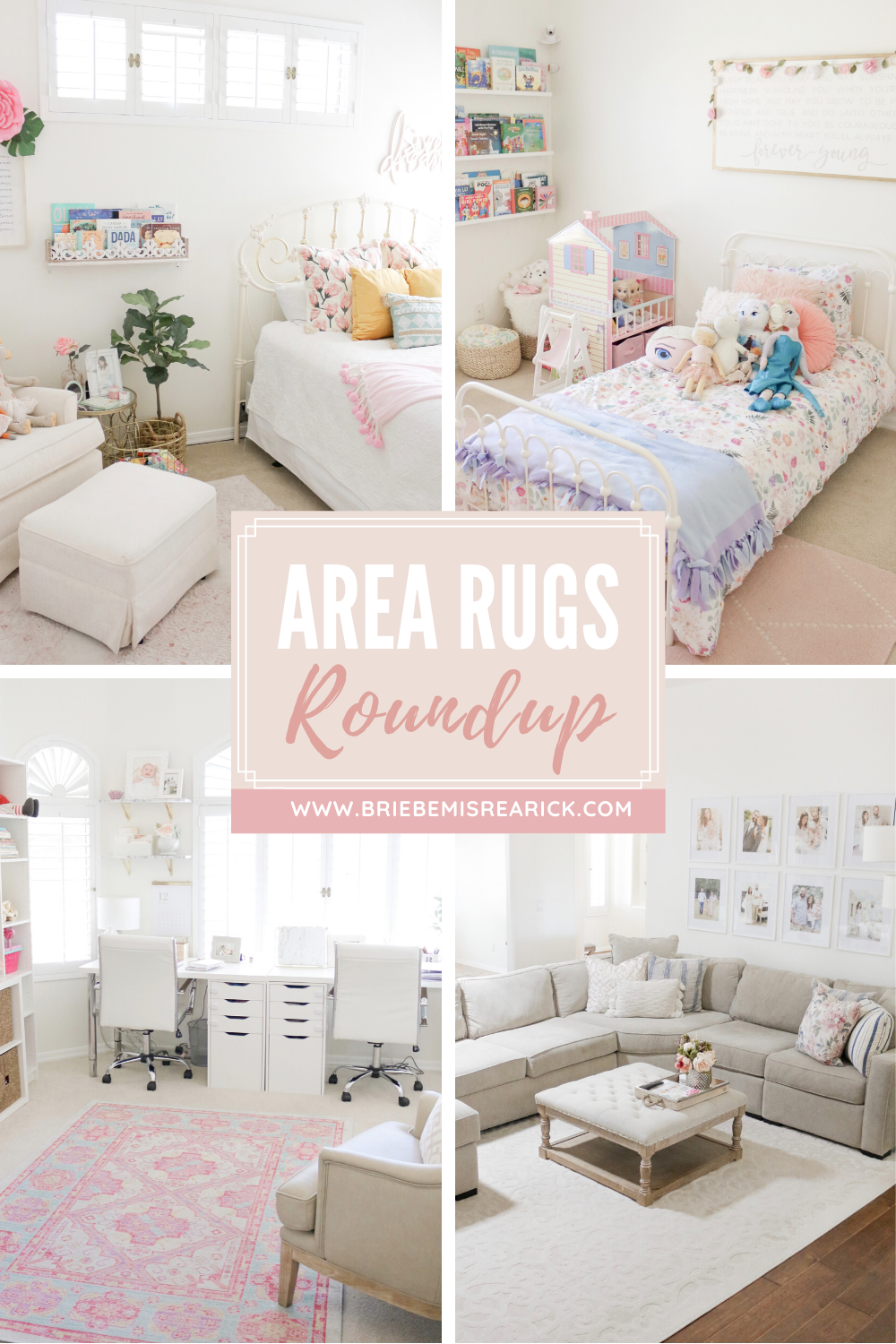 Area Rugs Roundup + My Favorites in our Home!