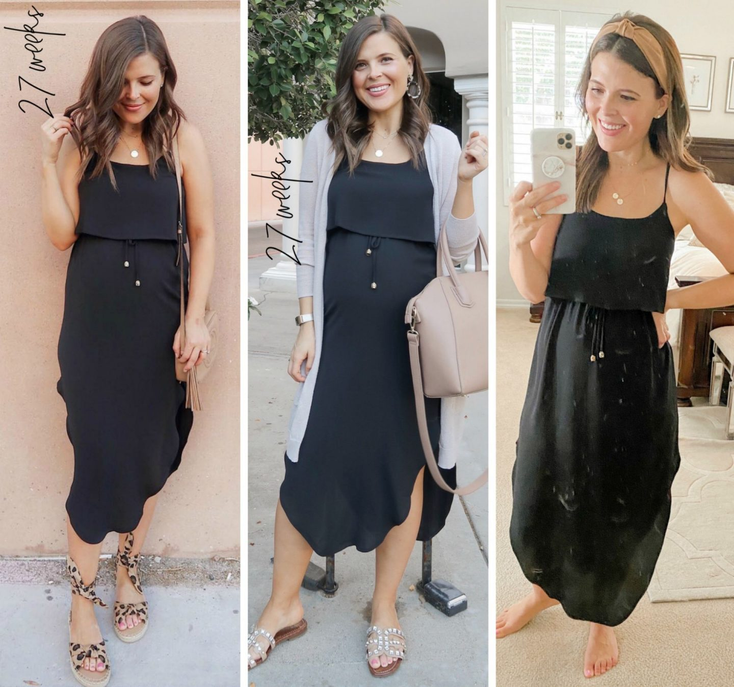 casual midi dress non-maternity amazon pregnancy fashion