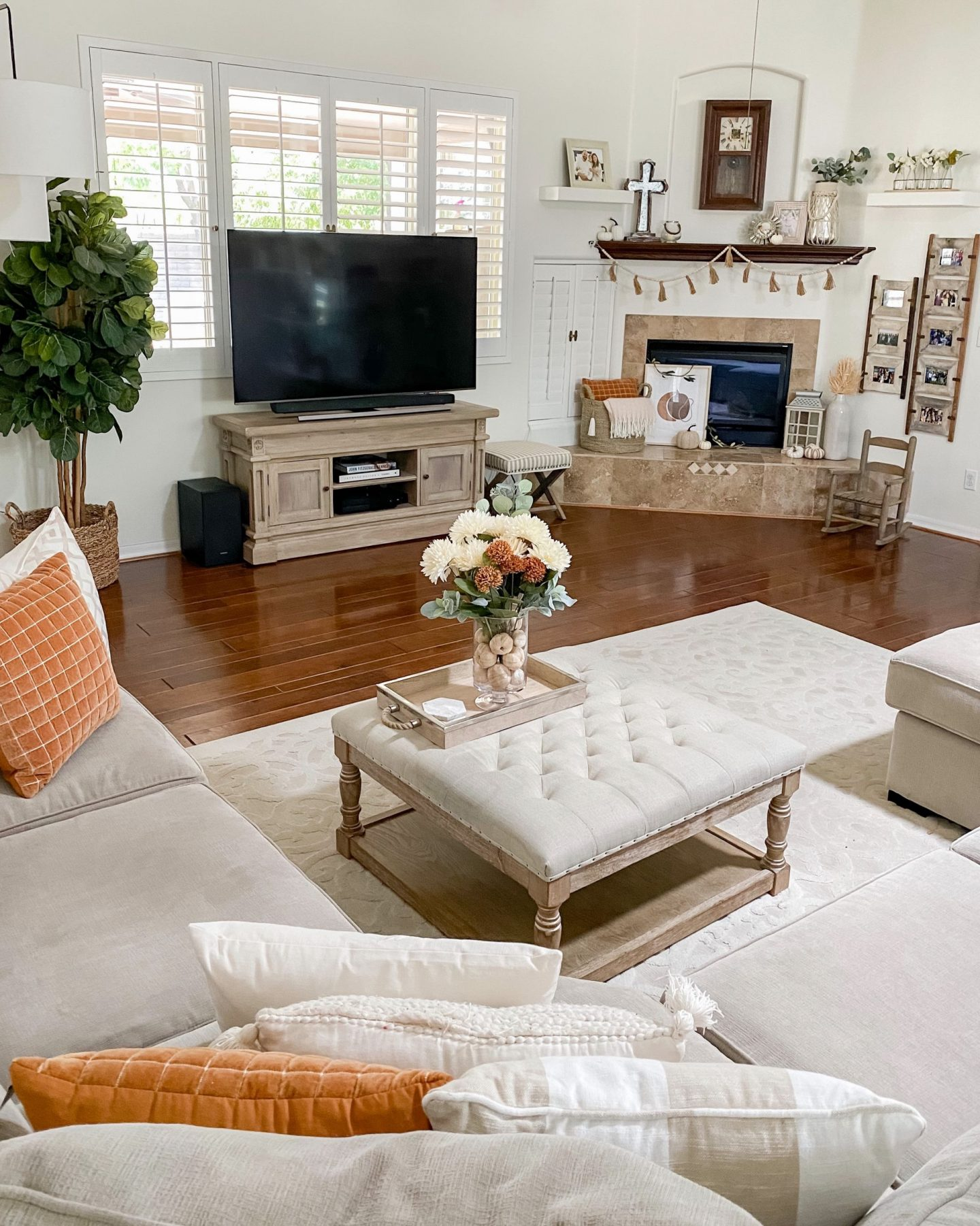 neutral fall home decor 2020