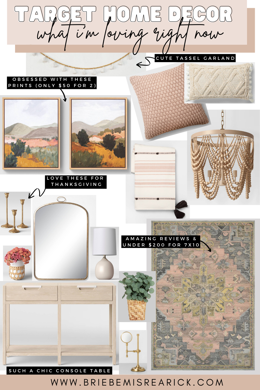 Target Home Decor: What I'm Loving Right Now
