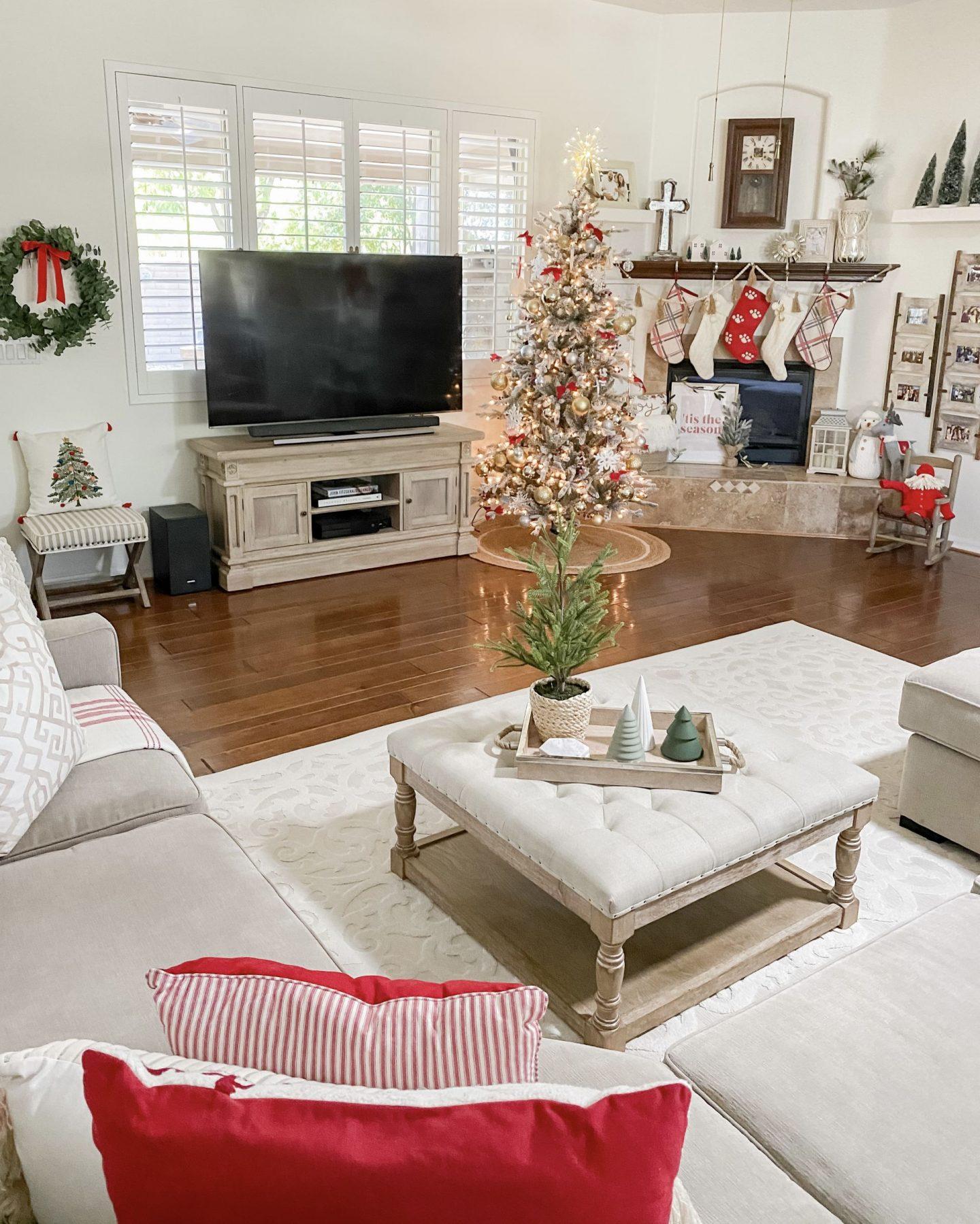 Christmas Home Tour Holiday Decor Living Room